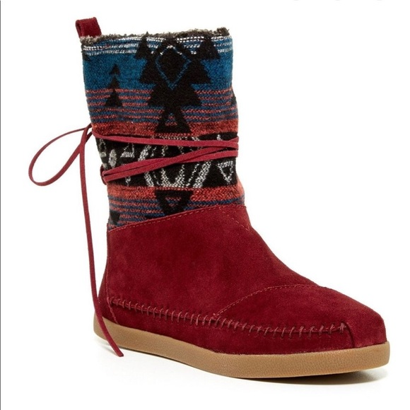 Toms Shoes   Nepal Suede Boots   Poshmark
